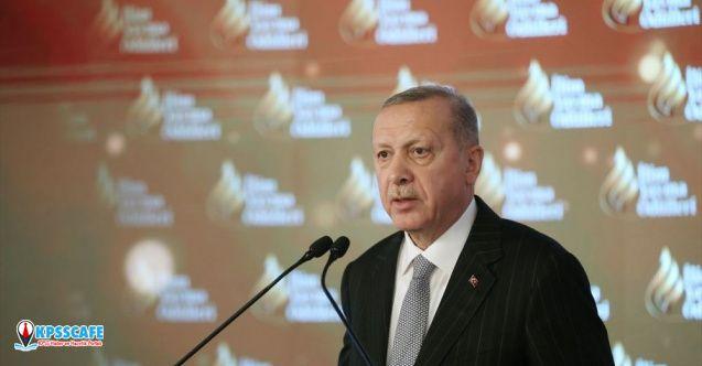 Cumhurbaşkanı Erdoğan: Kağıdı Çinliler buldu ama hakkıyla kullanan bizim ecdadımız!