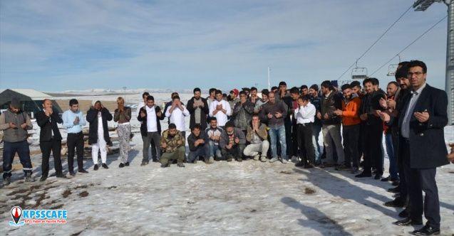 Kayak sezonu açılamayınca turizmciler 'kar duası'na çıktı!
