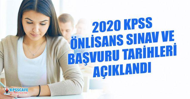 ÖSYM 2020 Önlisans KPSS Sınavı ve Başvuru Tarihini Açıkladı!