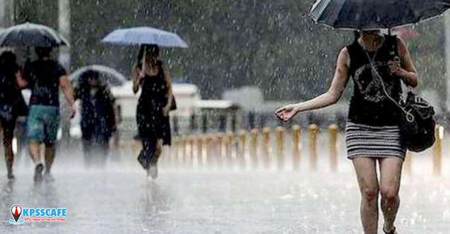 Meteoroloji'den 14 ile uyarı! Şemsiyeleri hazırlayın: Yağmur geliyor!