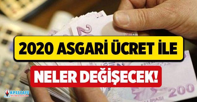 2020 Asgari ücret zammıyla neler değişecek?