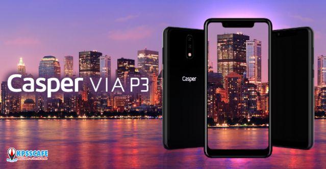 Yapay Zeka Harikası Akıllı Telefon: Casper VIA P3!