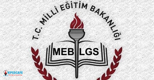 MEB LGS İçin Örnek Soruları Açıkladı