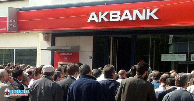 Akbank kredi alacaklarını 32 milyon TL'ye sattı!
