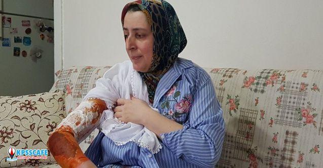 Karısını 'Misafirin yanında oturmadı' diye kaynar suyla haşlayan adama 1 ay evden uzaklaştırma cezası