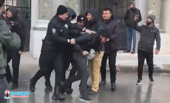 Beyazıt'taki öğrenci eylemine müdahaleye ilişkin soruşturmada bir polis açığa alındı