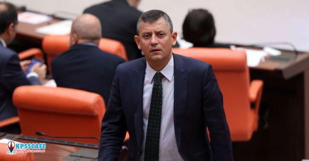 CHP'li Özel tepki gören kanun teklifini geri çekti!