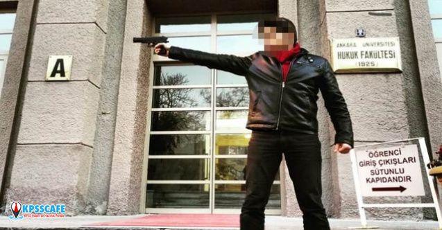 Silah doğrulttuğu okulda hocalık yapacak!
