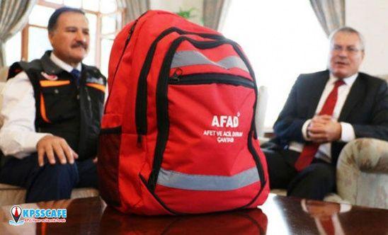 Deprem çantasında neler olmalıdır?
