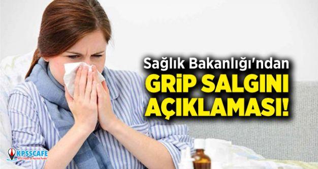 Sağlık Bakanlığı'ndan Grip Salgını Açıklaması!