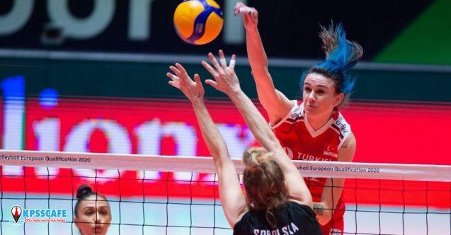 Milli voleybolcu Meryem Boz Olimpiyat elemelerinin en değerli oyuncusu seçildi