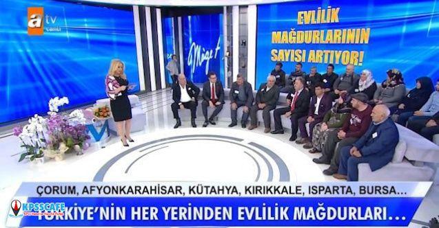 Suriyeli sahte gelin mağdurları Müge Anlı'nın stüdyosuna sığmadı!
