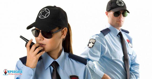 İlköğretim mezunu 493 güvenlik görevlisi alınacak!