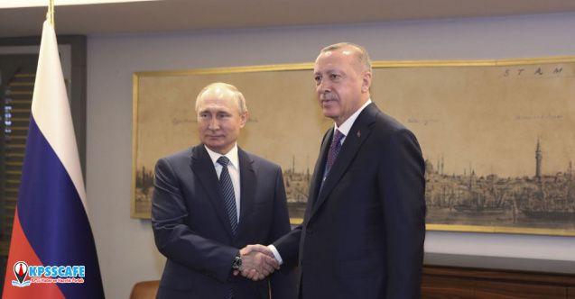 Putin ve Erdoğan Berlin'de Görüşecekler..
