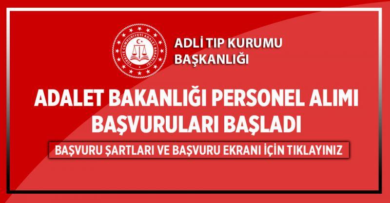 Adalet Bakanlığı 4 Bin TL Maaşla Personel Alım Başvuruları Başladı! İşte Başvuru Şartları...