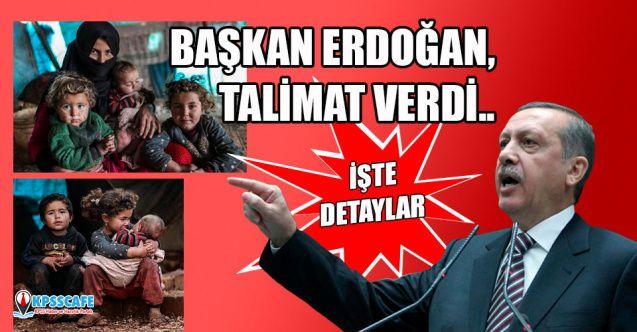Başkan Erdoğan, 'görünce kanımız dondu' dediği aileler için talimat verdi..