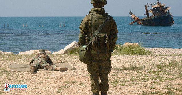 Rusya ve Suriye ordularından Tartus'ta ortak tatbikat