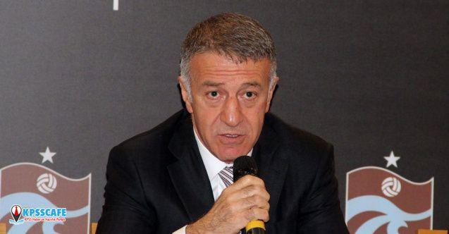 Trabzonspor Başkanı Ağaoğlu: Biz paraları böyle batırdık!