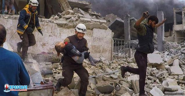 Rus savaş uçakları İdlib'e saldırdı: 26 ölü