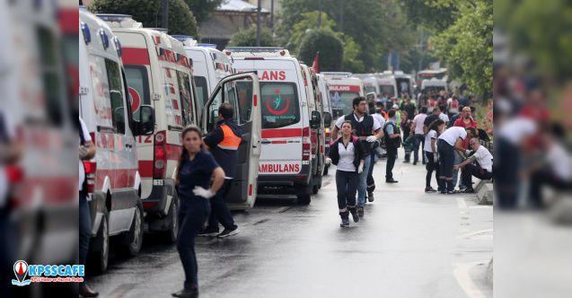 İstanbul'da korkutan patlama! Çok Sayıda Sağlık Ekibi Sevk Edildi
