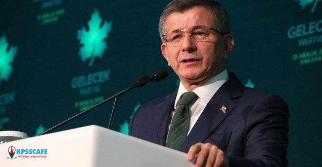Ahmet Davutoğlu'ndan 'kayyum' tepkisi: Sivil topluma darbe!