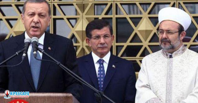 Eski Diyanet Başkanı'ndan Davutoğlu'na destek