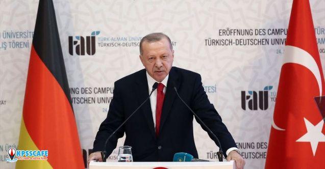 Erdoğan: Sükunet sağlanmazsa Libya'daki kaos Akdeniz havzasını etkileyecektir...