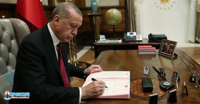 Başkan Erdoğan onayladı! Yeni atamalar yayınlandı