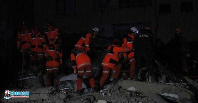 Son dakika! AFAD; Depremde hayatını kaybeden sayısını açıkladı