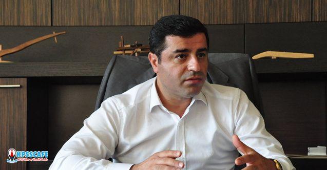 Demirtaş'tan Elazığ depremi ile ilgili açıklama yaptı!