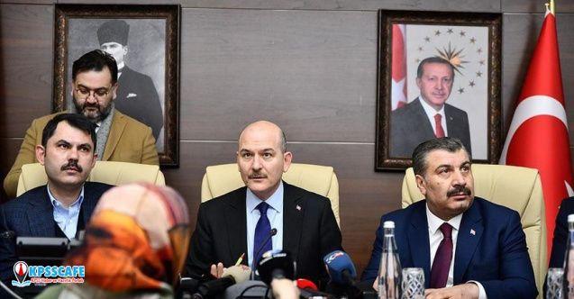 İçişleri Bakanı Süleyman Soylu: ''Kimse kendi başına yardım göndermesin!''