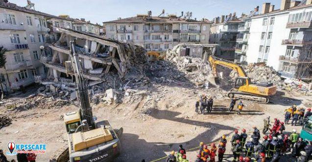 Depremde yıkılan binalara soruşturma açıldı!