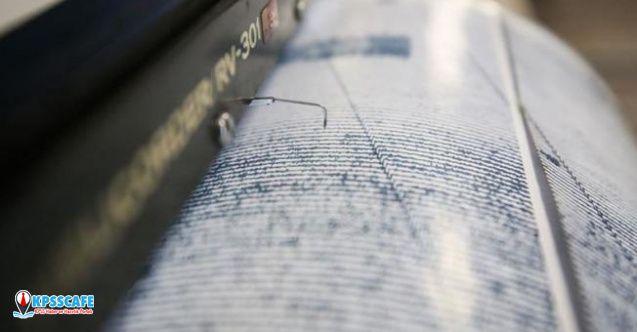 Son dakika İzmir'de deprem!