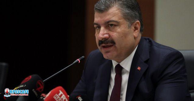 Sağlık Bakanı Koca'dan son dakika açıklaması! koronavirüsü Türkiye'de...