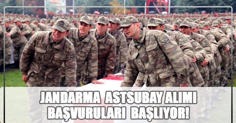 Önlisans Mezunu Jandarma Astsubay Alımları Yarın Başlıyor!