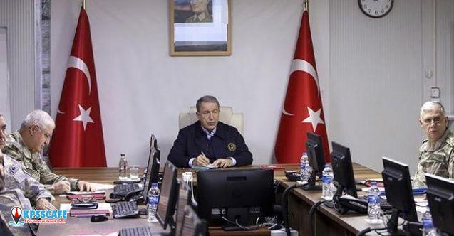 Bakan Akar açıkladı: 76 rejim askeri etkisiz hale getirildi...