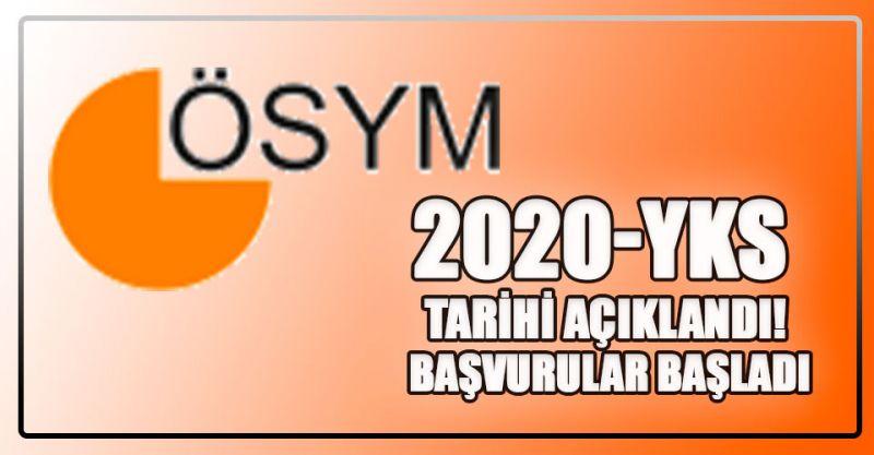 2020-YKS Tarihi Açıklandı! Başvurular Başladı...