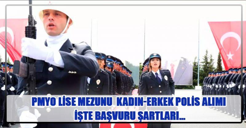 Lise Mezunu Kadın-Erkek Polis Alımı Başvuruları Başlıyor! İşte Başvuru Şartları...