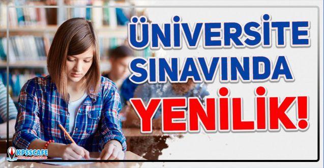 ÖSYM'den YKS 2020'de Üniversite Sınavında Yenilik!