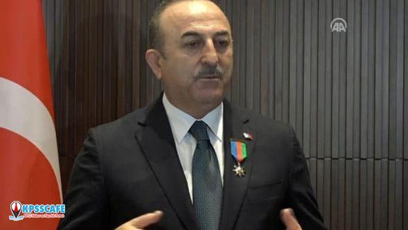"""Bakan Çavuşoğlu; """"Sabrımızın bir sınırı var, sınırı aşılırsa durmayız"""""""