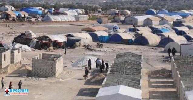 Sınırdaki Suriyeliler yeni yerlerine yerleştiriliyor