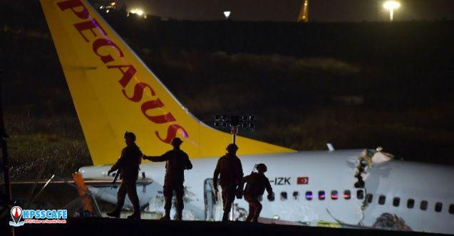 Uçak kazasında son durum: 180 yolcudan 92'si taburcu edildi