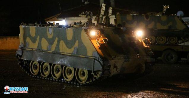 Suriye sınırında TSK'dan ZPT takviyesi