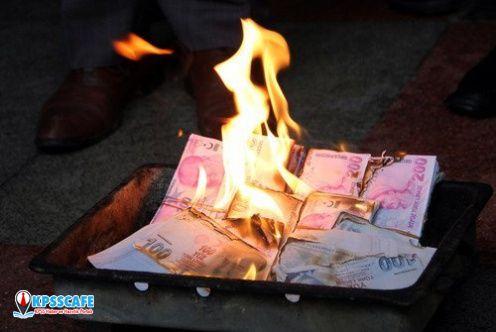 İş adamı 6 milyon lirayı yaktı!