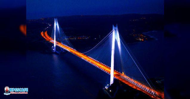 Yavuz Sultan Selim Köprüsü kansere karşı mavi ve turuncu ışık yakacak