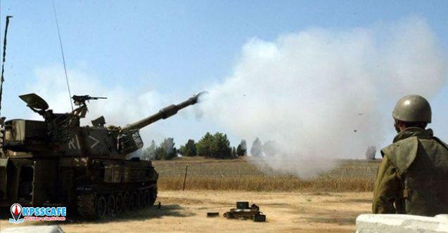 İsrail'den Gazze'ye tank atışı! Tugaya ait 2 noktayı vurdu...