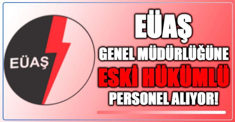 EÜAŞ Genel Müdürlüğüne Eski Hükümlü Personel Alımı Yapıyor!