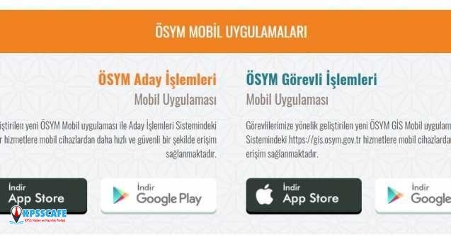 ÖSYM'den Yeni Mobil Uygulama!