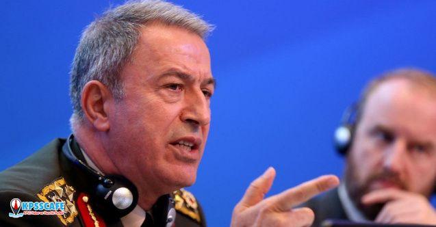 Milli Savunma Bakanı Hulusi Akar açıkladı! ''somut destek sağlayın''