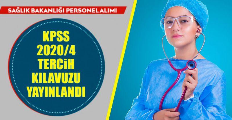 KPSS 2020/4 Sağlık Personeli Alımı Tercihleri Başladı! İşte Personel Alım Kadroları